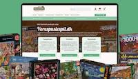 Vorespuslespil - salg af puslespil via abonnement/webshop