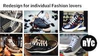 Design og salg af upcycled sneakers